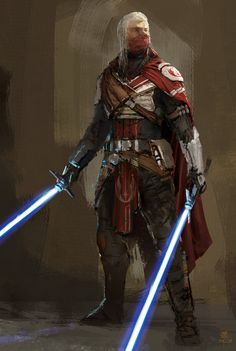 Star Wars Characters Pictures, Star Wars Pictures, Star Wars Images, Jedi Armor, Jedi Sith, Star Wars Concept Art, Star Wars Fan Art, Star Wars Rpg, Star Wars Jedi