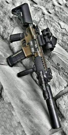 Military Weapons, Weapons Guns, Guns And Ammo, Tactical Rifles, Firearms, Shotguns, Tactical Survival, Custom Guns, Custom Ar