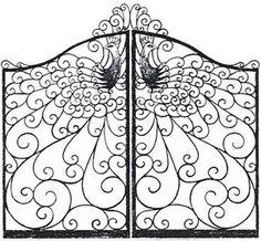 peacock gates