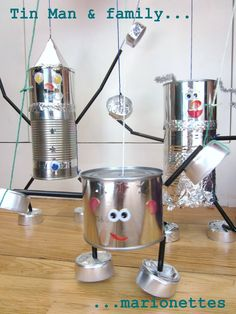 How to make a Tin Man (and a Tin Lady and a Tin Baby)