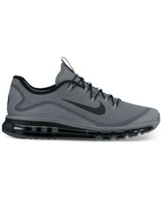 Nike Men's Air Max More Running Sneakers from Finish Line - Black 11.5