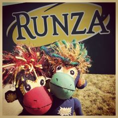 What do the SMAC! monkeys have in common with @Runza?  Both born, bred and SMACing good delights from #Nebraska. #smacancer