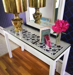 *WHITE GLAM*: Personalizar móveis ** Dress your furniture!
