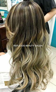 Balayage OMBRE ash Hair Ash Hair, Long Hair Styles, Beauty, Long Hairstyle, Long Haircuts, Long Hair Cuts, Beauty Illustration, Long Hairstyles, Long Hair Dos