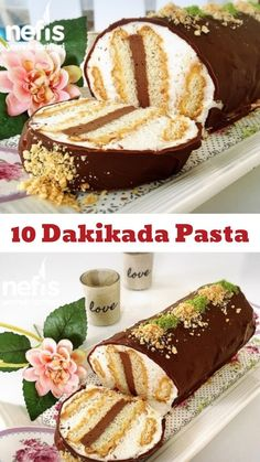 10 Dakikada Pasta Yapımı Videosu – Nefis Yemek Tarifleri Video narration How to make a Cake Making Video Recipe in 10 Minutes? Video description of this recipe in the book of people and photos of those who try it are here. Quick Dessert Recipes, Muffin Recipes, Cookie Recipes, Food Cakes, Cupcake Cakes, Cupcakes, Tiramisu Dessert, Canned Blueberries, Vegan Scones