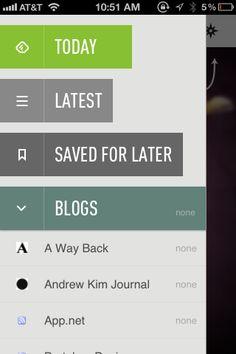 A gallery site of mobile UI design patterns. #mobile #UI #design