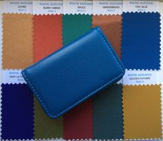 Soft Autumn Fabric Swatches in faux leather case. Your top ten colours in x swatches making shopping easy. More soft autumn swatches available. Soft Autumn Makeup, Soft Autumn Color Palette, Autumn Colours, Warm Colors, Deep Autumn, Warm Autumn, Soft Summer, Color Swatches, Fabric Swatches