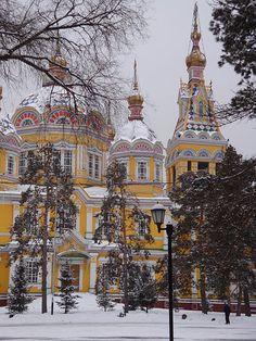 Greek-Orthodox Church in Almaty Kazakhstan