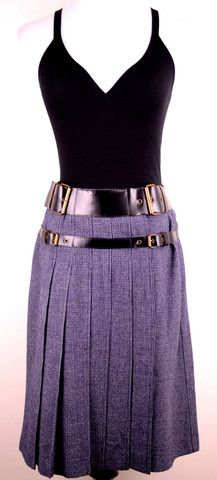 Cacharel Pleated Skirt Size 10 by Cacharel | ClosetDash Shop