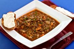 French Lentil Soup with Smoked Paprika by Plant-Powered Kitchen