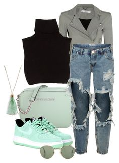 """""""Untitled #3413"""" by sonjamilica on Polyvore featuring IRO, Marc Jacobs, Michael Kors, One Teaspoon, NIKE and Vera Bradley"""
