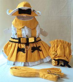 Busy Bee Set Vestido Harness