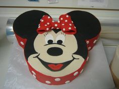 Minnie mouse - 1 large round, 2 small round for ears
