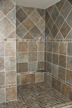 shower wall tile layout patterns - Google Search