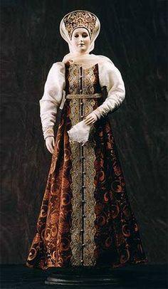 RUSSIAN TRADITIONAL COSTUMES - art doll by Alexandra Kukinova Studio