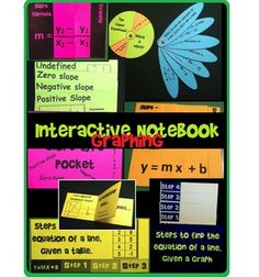 Viewing 1 - 20 of 8300 results for interactive notebook graphing in algebra 11 foldables Math Teacher, Math Classroom, Teaching Math, Classroom Ideas, Algebra Interactive Notebooks, 8th Grade Math, Common Core Math, Middle School Science, Math Resources