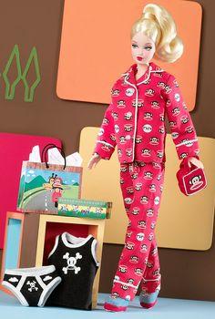 ポール・フランク バービー 赤 Paul Frank Barbie - バービー人形・ファッションドール通販 エクスカリバー Excalibur