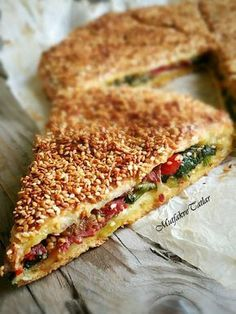 This pie is my favorite pie. Delicious Cake Recipes, Yummy Cakes, Snack Recipes, Dessert Recipes, Cooking Recipes, Yummy Food, Tasty, Fashion Cakes, Turkish Recipes