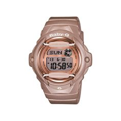 A signature piece in the Baby G collection, this Casio watch is inspired by the solid G Shock lines in order to meet high performance and endurance standards. Description from stylecompare.co.uk. I searched for this on bing.com/images