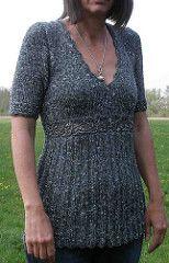 Ravelry: # 15 Empire Style Mini Dress pattern by Lana Grossa