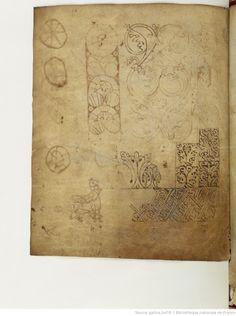 BnF ms. lat. 8318, Recueil factice composé de 4 manuscrits ou fragments de manuscrits différents: I. Arator Subdiaconus, Historia apostolica (f. 3-48). — II. Aurelius Clementis Prudentius, Psychomachia (f. 49-64). — III. Venantius Fortunatus, Carmina (f. 65-71). — IV. Aldhelmus, Carmina ecclesiastica (f. 73-80). -- 800-900, fol. 64v