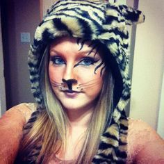 halloween costume ideas white tiger face - Google Search