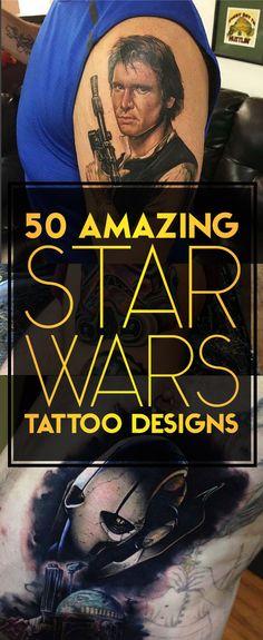 50 Amazing Star Wars Tattoo Design | TattooBlend