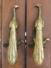 PEACOCK DOOR HANDLES