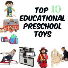 Preschool Toys for Developmental Milestones. Educational Toys for Preschoolers. Great resource for parents, teachers, and educators.