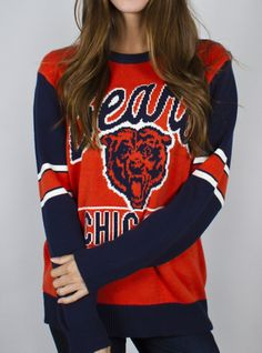 Our womens Chicago Bears clothes are all officially licensed and made from durable, machine-washable fabrics, ensuring many seasons of vibrant performance. Stock up on hoodies, jerseys, sweatshirts, and other colorful accessories.