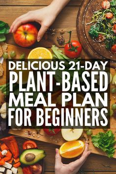 21-Day Plant Based Diet Meal Plan for Beginners | Looking for simple, whole food, budget-friend grocery lists and plant based recipes for weight loss? We've got a 21-day menu you'll LOVE. Whether you're looking for recipes for one, or need ideas for families (and for kids) so youre not cooking separate, these easy ideas will help you stick to your healthy eating goals without feeling deprived.