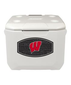 This Wisconsin Badgers 60-Qt. Portable Cooler is perfect! #zulilyfinds