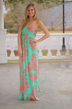 Aloha Maxi from The Mint Julep Boutique. A must have!!