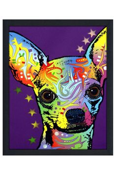 Dean Russo Chihuahua II, Framed Canvas http://vnlink.co/Sb5UdPC