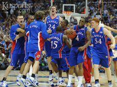 Kansas Basketball- 2008 National Championship team