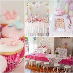 Fairy Princess themed birthday party with Lots of Cute Ideas via Kara's Party Ideas | KarasPartyIdeas.com #fairyparty #gardenparty #butterfl...