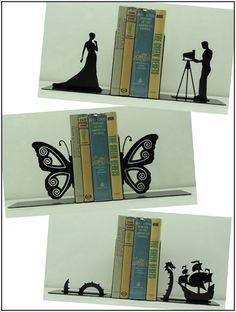 Mais Uma Página: Aparadores de livros #12