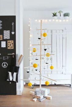 Weihnachtsbaum für Minimalisten im Skandi-Style
