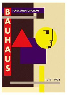 Unique Bauhaus poster on Behance