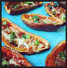 Sweet Potato Skins - Enjoy this recipe and For great motivation, health and fitness tips, check us out at: www.betterbodyfitnessbootcamps.com Follow us on Facebook at: www.facebook.com/betterbodyfitnessbootcamps