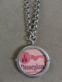 Rare Vintage Disneyland PINK Magic Key Coupon by TicketTrinkets, $70.00