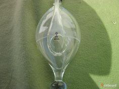 Barometer i glas Skruf Sweden - citiboard