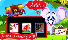 The AtoZ Mania - Educational App is a learning iphone game for Kids. This baby homeschooling App has been especially designed for the kindergarten toddlers.