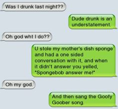 I actually wonder if people get THAT drunk.