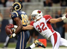 DB Tyrann Mathieu has 10 tackles & a touchdown saving forced fumble against the Rams