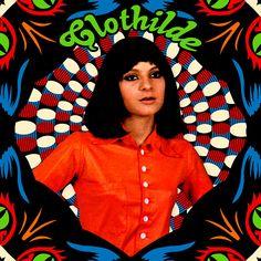 French Swinging Mademoiselle  - Clothilde // 1967 // Born Bad Records (Réédition) // Françoise Hardy mais en bien