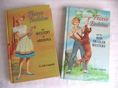 My mom read these, then passed them down to me and I read them as a kid. LOVE Trixie Belden books!