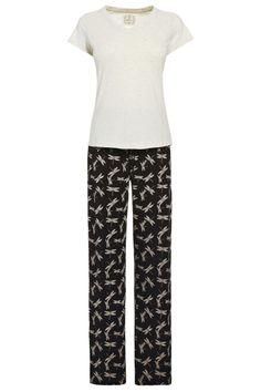 Dragonfly Print Pyjama Set from the Next UK online shop