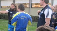 Allenamento 12 marzo 2014 con i giocatori della Nazionale Italiana di Rugby
