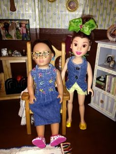 PennilessCaucasianRubbish American Doll Adventures: Doll Orphan Joins the Doll Posse!